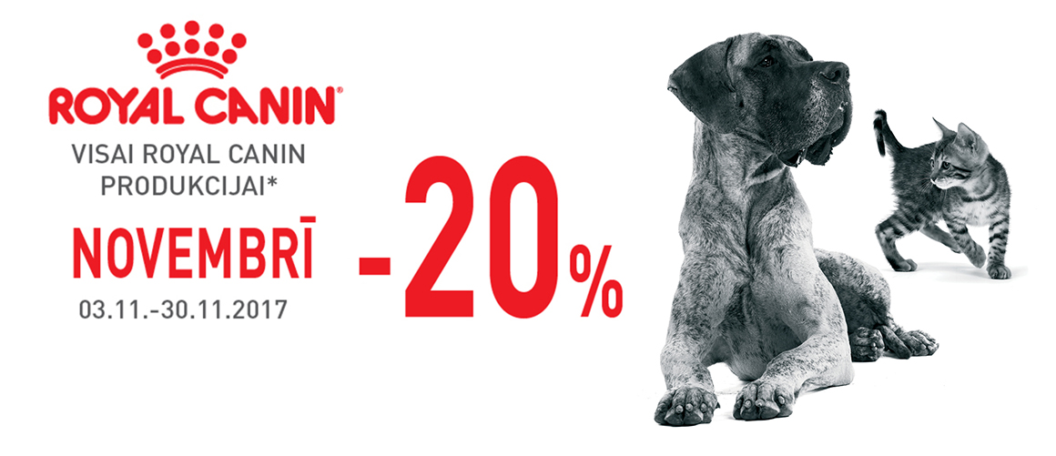 ROYAL CANIN -20%