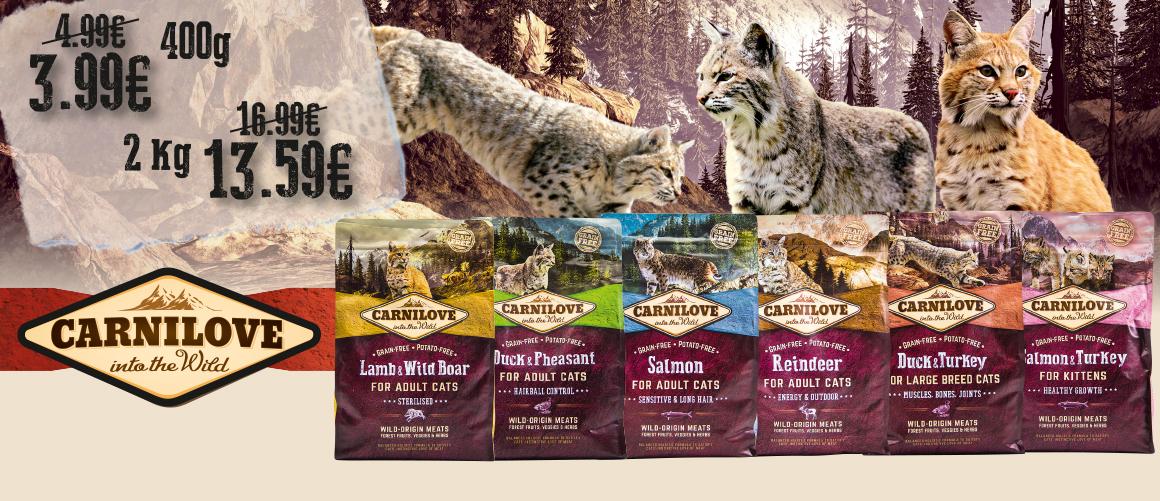 CARNILOVE Barība kaķiem