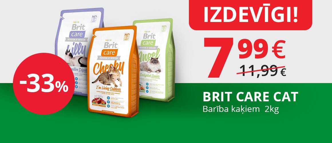 BRIT CARE CAT 2KG -33%