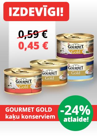 Gourmet Gold kaķu konservi