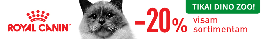 ROYAL CANIN -20% DINO ZOO