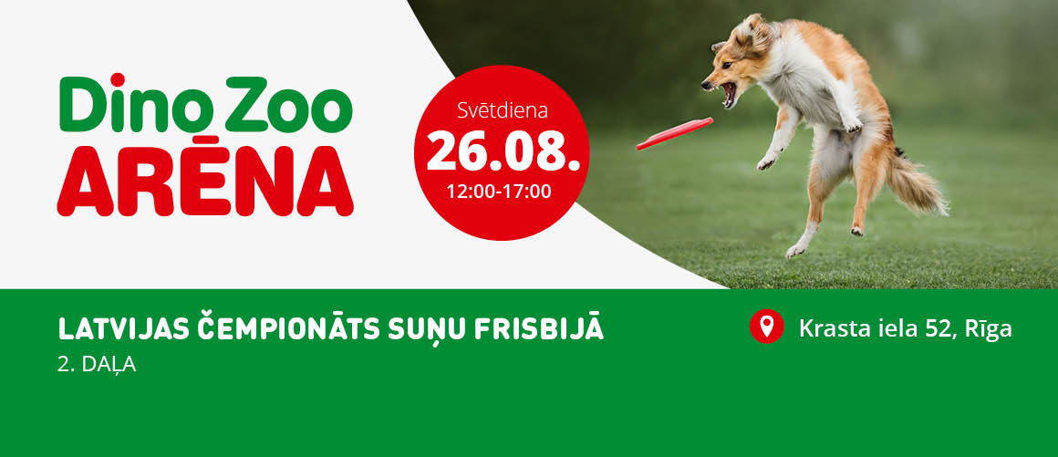 Latvijas Čempionāts Suņu frisbijā, 26.08