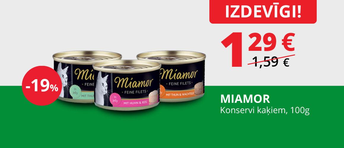 MIAMOR - Konservi kaķiem, 100 g