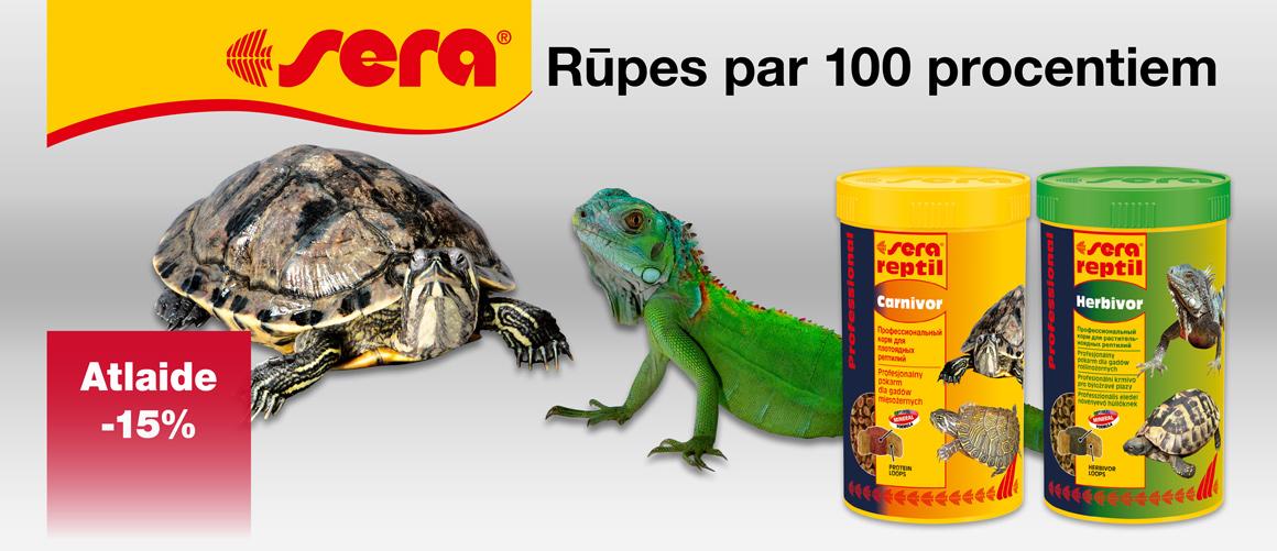 Sera Reptil - Barība reptiļiem